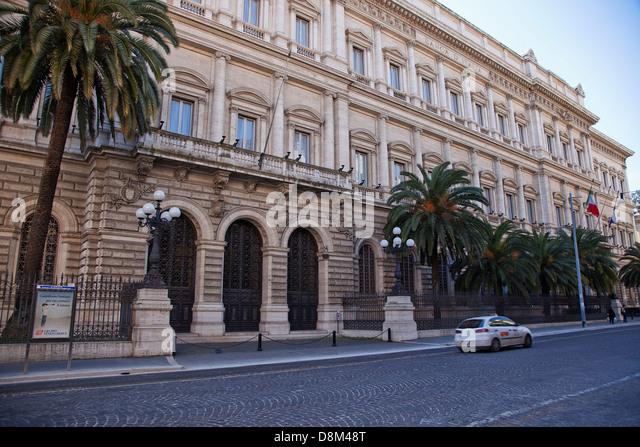 Banca d 39 italia stock photos banca d 39 italia stock images for Palazzo delle esposizioni via nazionale roma