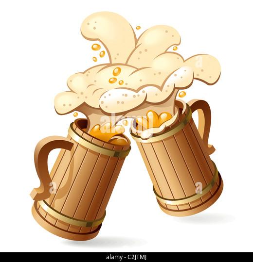 Beer Mug Toast Clipart