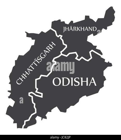 Jharkhand Map Stock Photos  Jharkhand Map Stock Images  Alamy