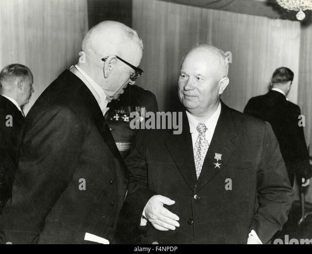 relationship between eisenhower and khrushchev