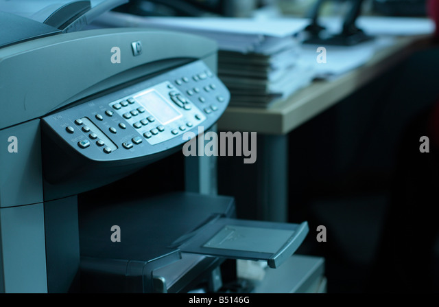 fax machine and scanner
