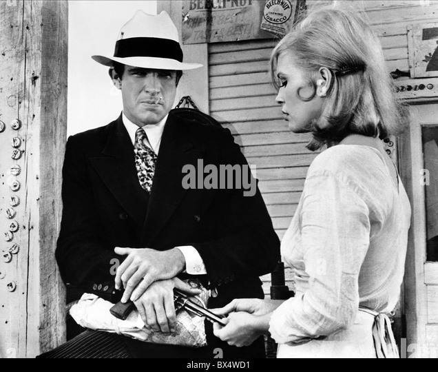 Dunaway And Beatty And Bonnie And Clyde Stock Photos