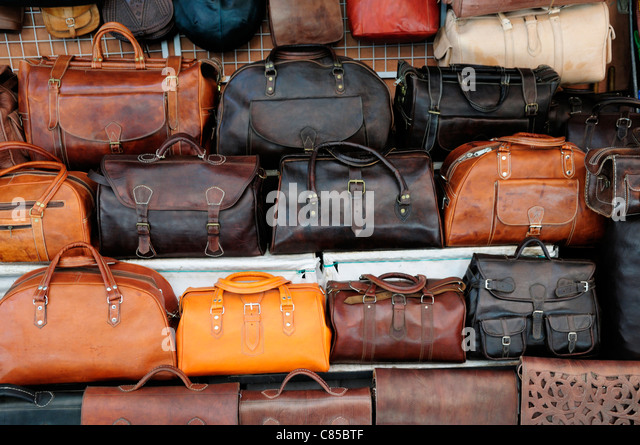 Leather Bags Stock Photos & Leather Bags Stock Images - Alamy