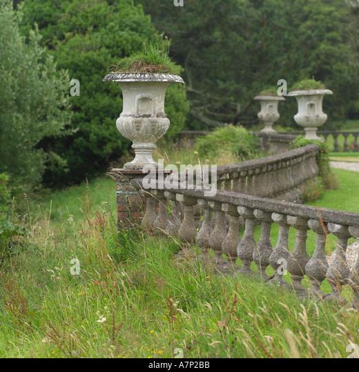 Old Westbury Gardens Floor Plan: Decorative Garden Urns Stock Photos & Decorative Garden