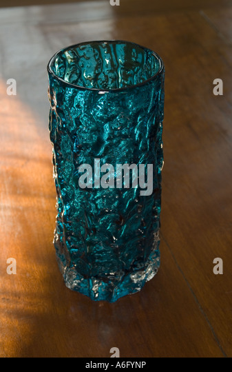 Whitefriars Glass Vase Stock Photo 11565489 Alamy