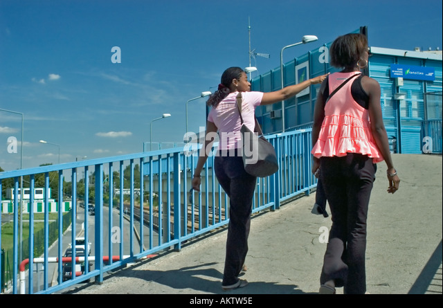 girls walking city capital stock photos girls walking city capital stock images alamy. Black Bedroom Furniture Sets. Home Design Ideas