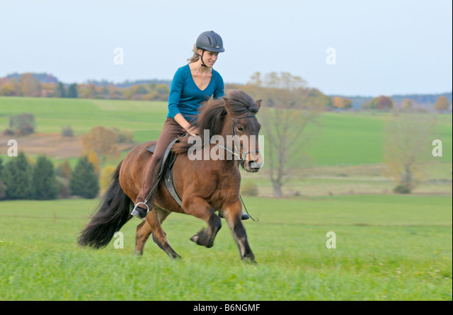 how to ride a gallop