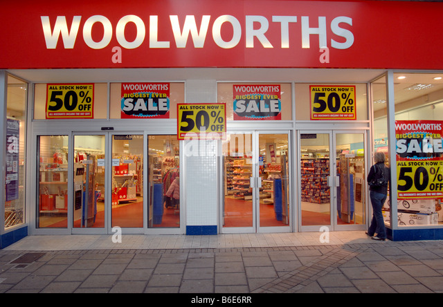 Woolworth Woolworths Stock Photos Amp Woolworth Woolworths