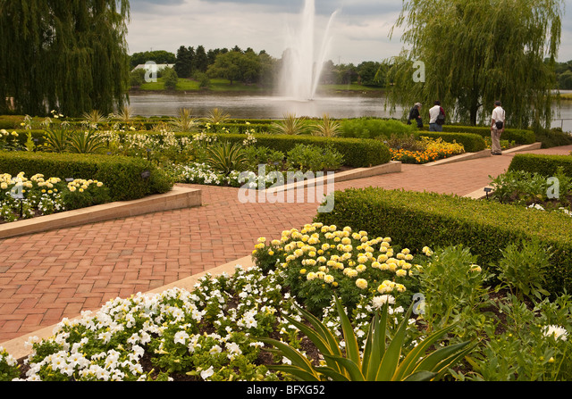 The Crescent, Chicago Botanic Garden, Chicago, Illinois, United States Of  America