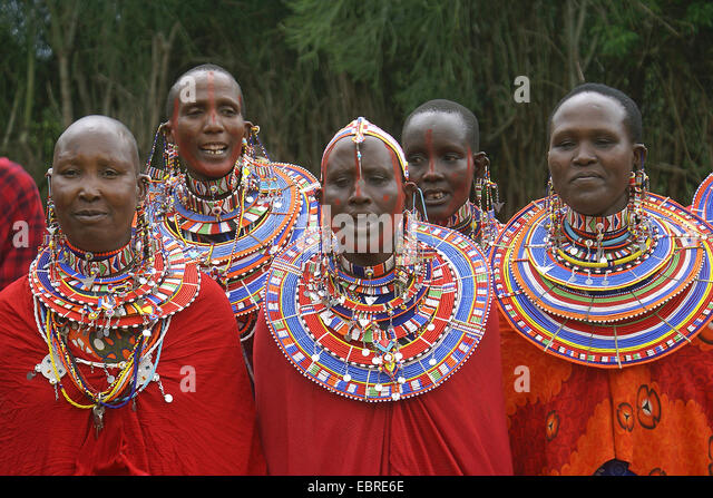 Traditional Face Paint Dress In Kenya