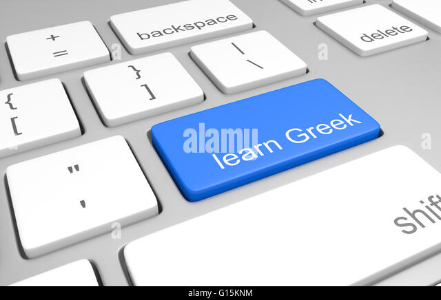how to write in greek language