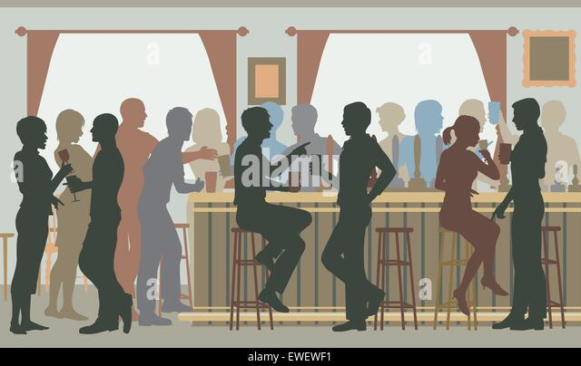 silhouette people drinking vector stock photos  u0026 silhouette people drinking vector stock images