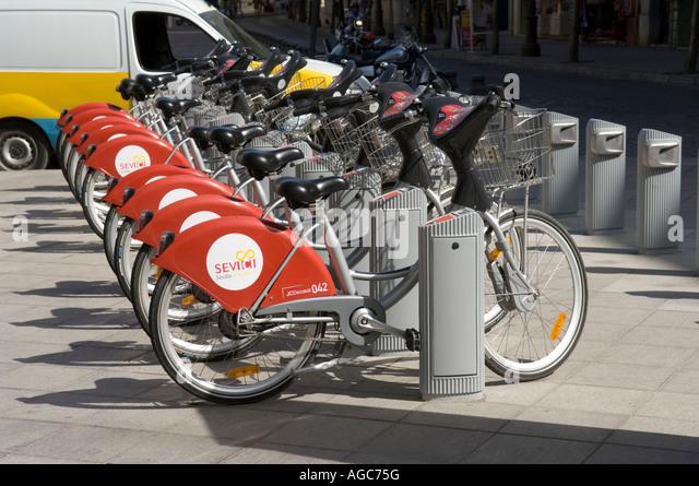 Public Bike System Stock Photos & Public Bike System Stock ...