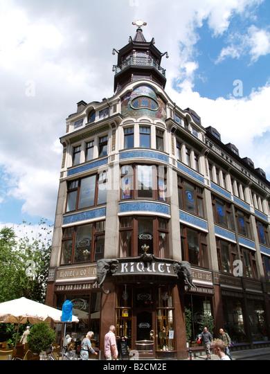 Leipzig Germany Cafe Riquet Leipzig Stock Photos & Leipzig ...