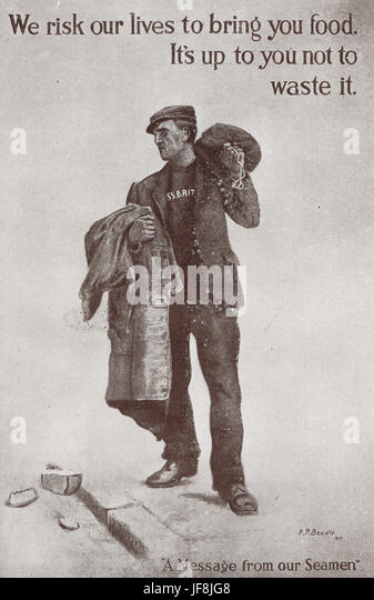 WW 1 home propaganda poster - Stock Image