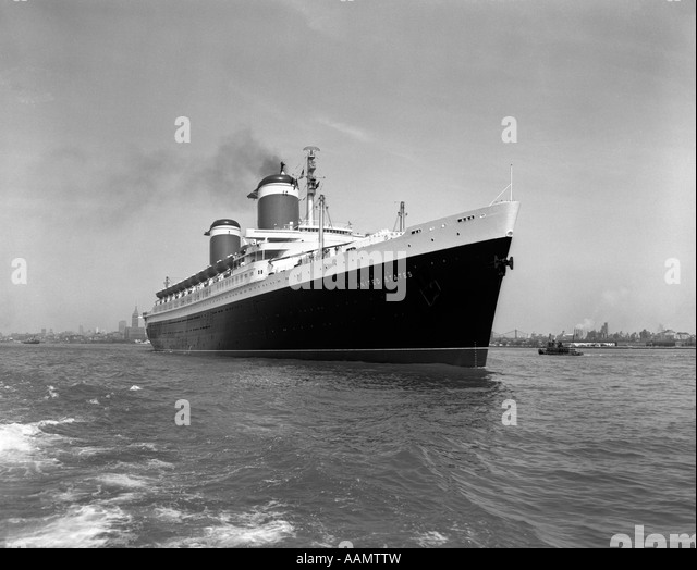 What was the name of the first transatlantic passenger steamship?
