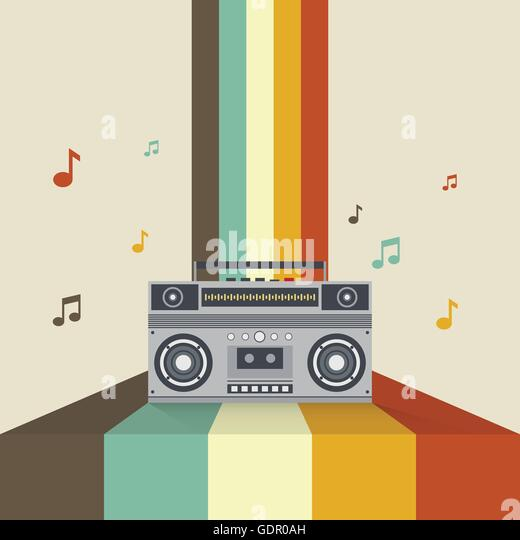 Boombox Vector Stock Photos & Boombox Vector Stock Images ...