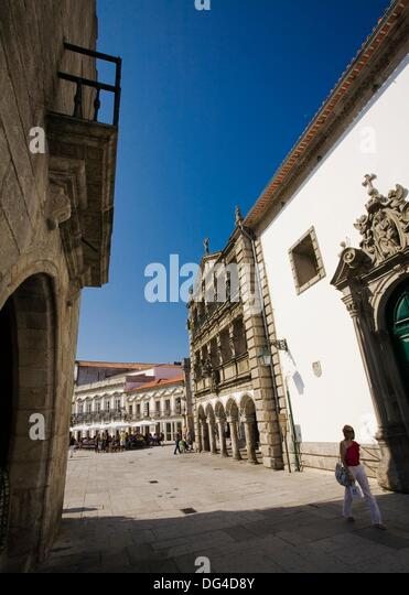 Viana Do Castelo Praca Da Republica Stock Photos Viana Do Castelo Praca Da Republica Stock