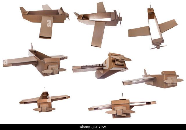 how to make a large cardboard airplane
