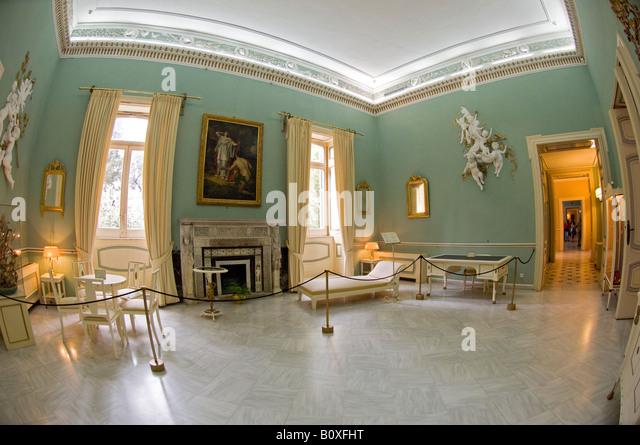 Achilleion Museum Corfu Greece Stock Photos & Achilleion ...