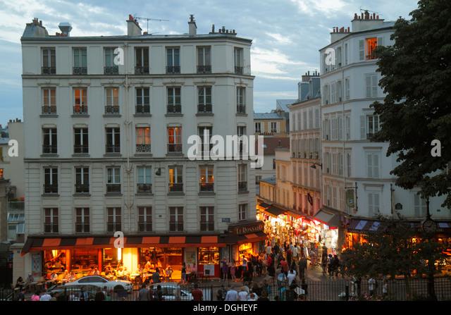 France paris place saint michel saint michel stock photos france paris - Place saint pierre paris ...