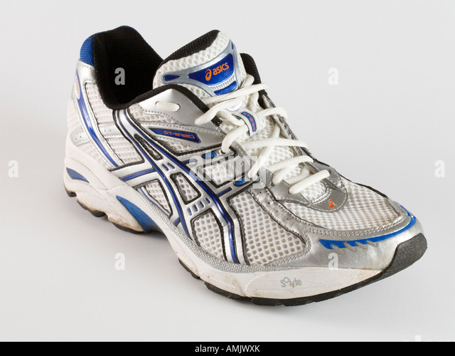 Asics GT 2120 running training shoe cutout - Stock Image