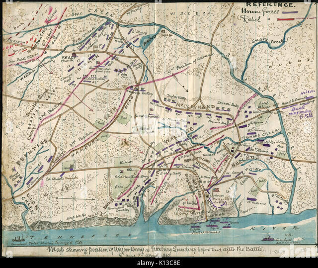 Battle Of Shiloh On Us Map Globalinterco - Pin 12973 us 70 business hwy w clayton maps