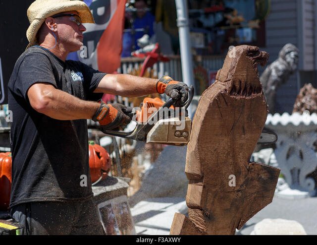 Wood carvings stock photos images