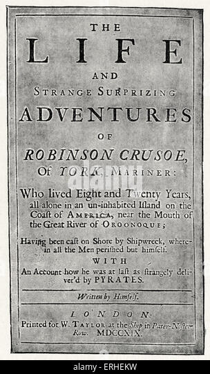 robinson crusoe writer Daniel defoe's robinson crusoe comes second in our list of the best novels written in english robert mccrum explains the genius of this complex, irresistible.