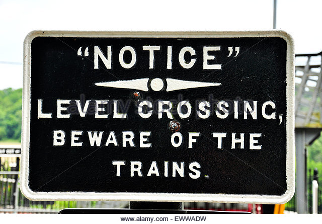 Lower Boddington United Kingdom  City pictures : Beware Of Trains Stock Photos & Beware Of Trains Stock Images Alamy