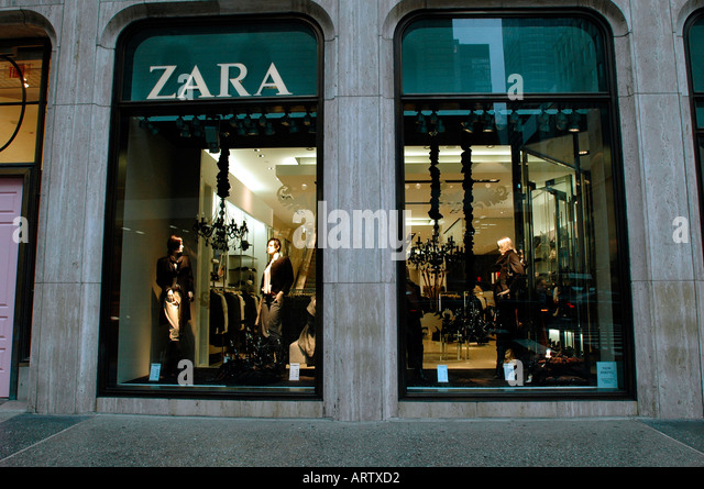 Clothing stores in new york city