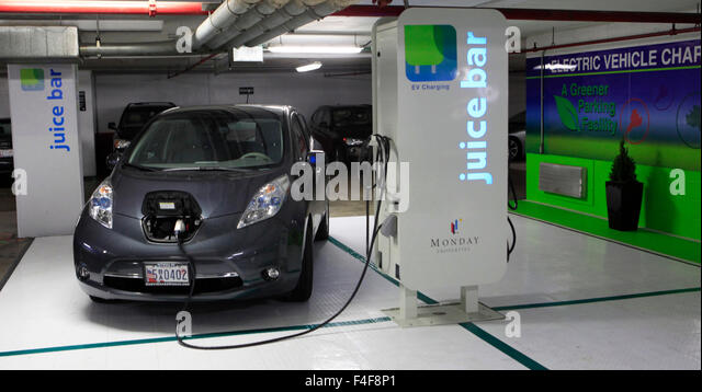 Juice Bar Electric Car Charging