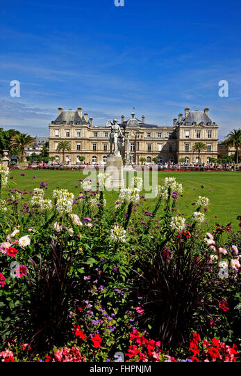 Jardin du luxembourg paris stock photos jardin du for Jardin paris