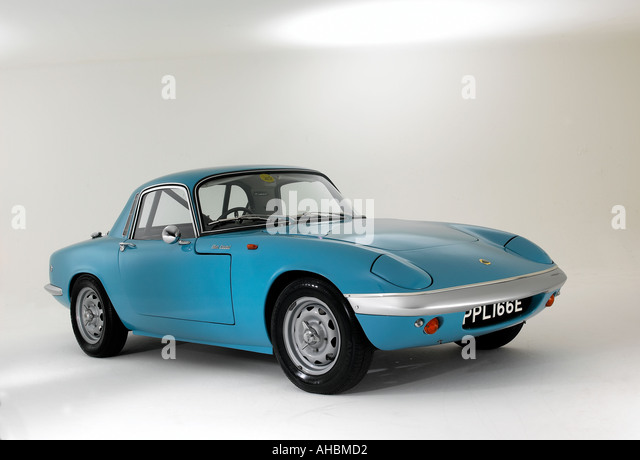 1967 lotus elan coupe stock image