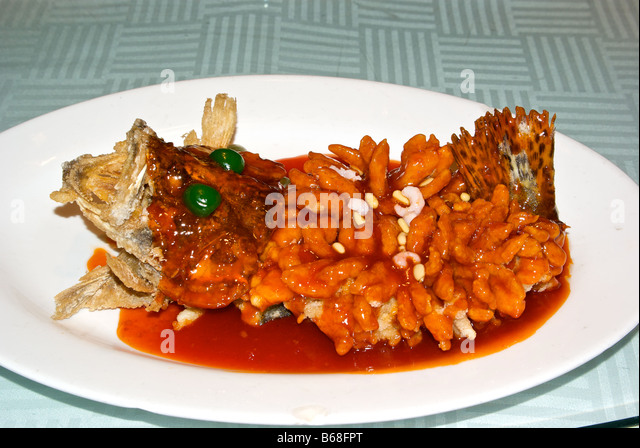Mandarin fish stock photos mandarin fish stock images for Deep fried whole fish