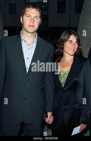 David Morrissey Wife Actor Hollywood Los Angeles Stock ...