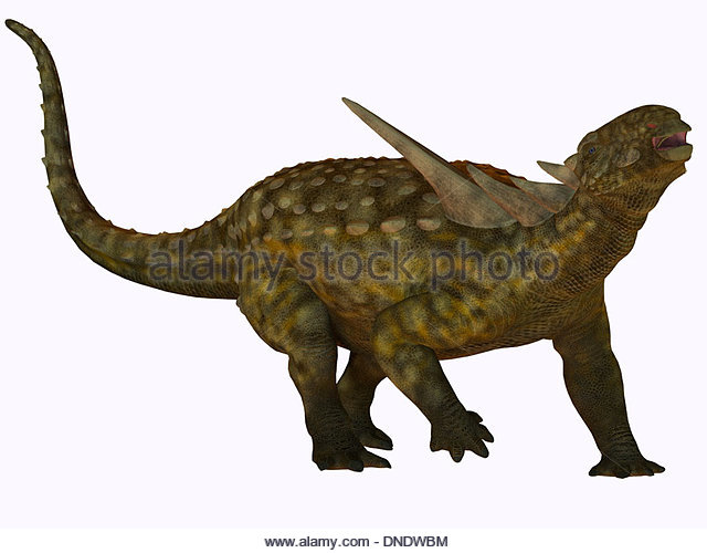 Sauropelta A Herbivorous Dinosaur That Lived In River Floodplains Of North America During The Cretaceous