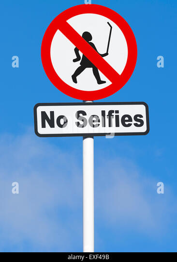 Sign Notice Banned Forbidden Stock Photos Sign Notice Banned - Noselfies 9 places where selfies are banned
