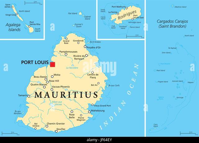 Map Of Mauritius Stock Photos Map Of Mauritius Stock Images Alamy - Maurtius map
