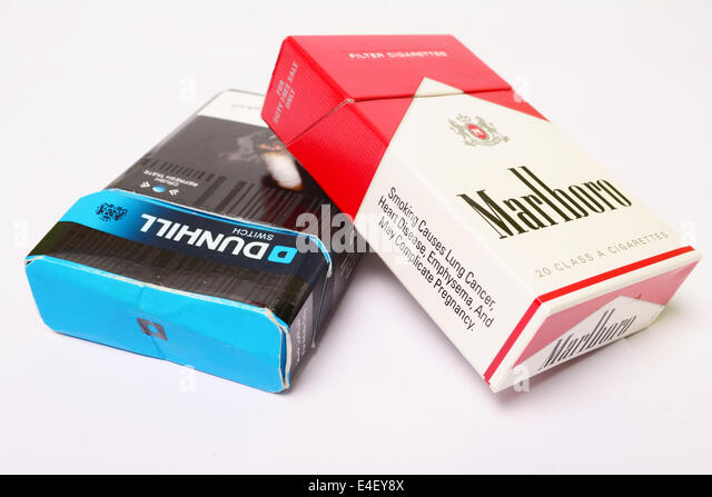 Cigarettes Dunhill and tobacco buyers