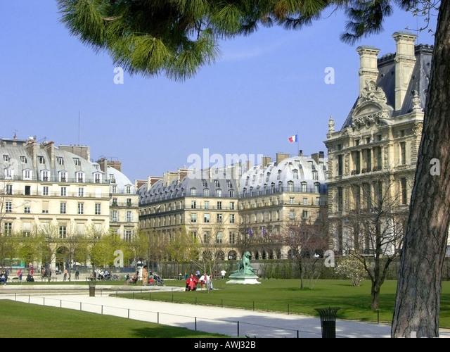 Palais des tuileries stock photos palais des tuileries for Jardins tuileries paris france
