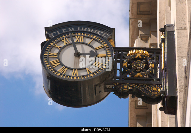 Exterior Wall Clock On London Stock Photos Exterior Wall Clock On London Stock Images Alamy