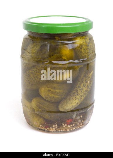 how to clean a pickle jar