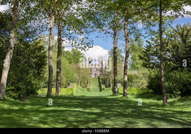 Landscape Garden Surrey : Claremont gardens surrey stock photos