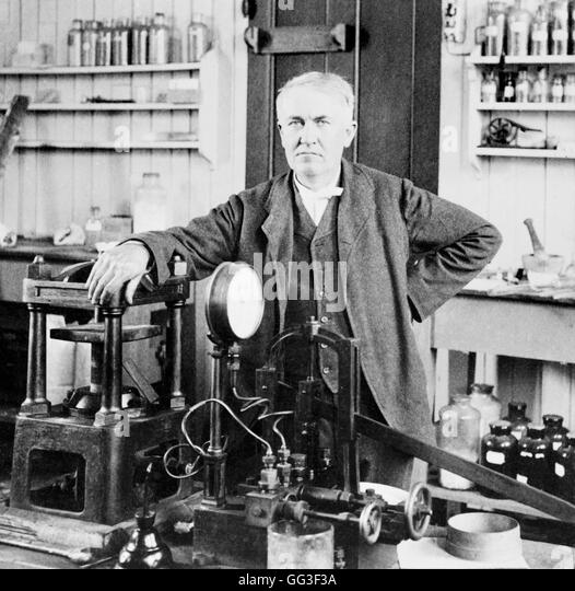thomas edison 1847 1931 Thomas edison (1847-1931) generally regarded as the most prolific inventor of all time, thomas edison held an amazing 1,093 patents he was nicknamed the wizard of menlo park, in part because of his stunning success with the invention of the phonograph in 1877.