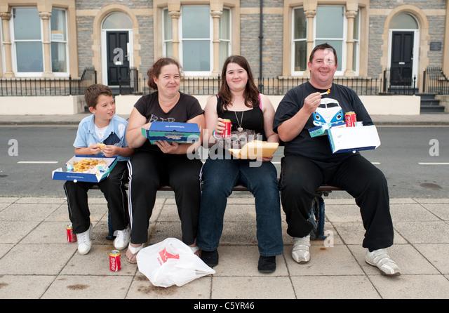 Overweight family children stock photos overweight for Divan 2 heilbronn
