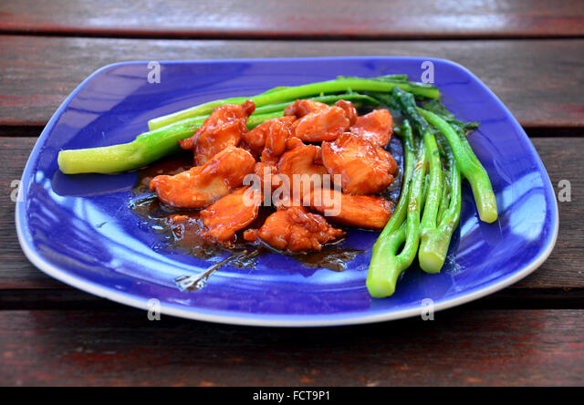 Asian Spicy Grilled Fish Sweet Stock Photos & Asian Spicy ...