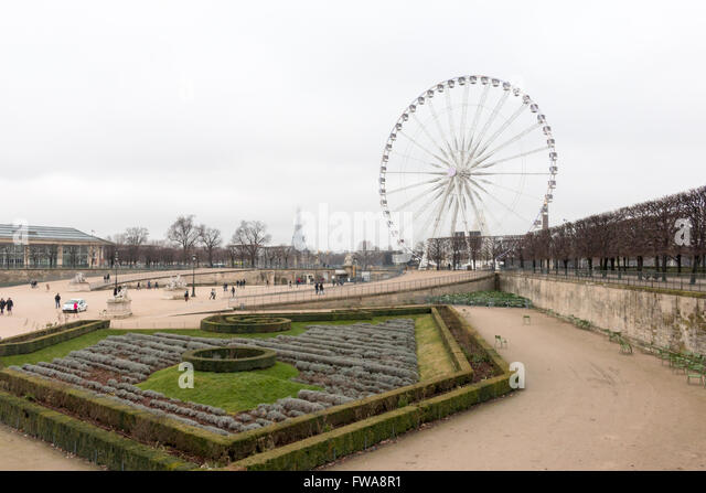 Grande roue de paris stock photos grande roue de paris for Plus grand jardin de paris