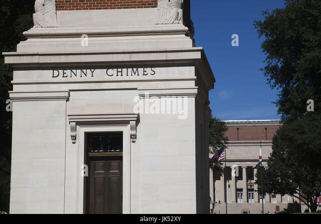 USA, Alabama, Tuscaloosa, University of Alabama, the Denny Chimes - Stock Image