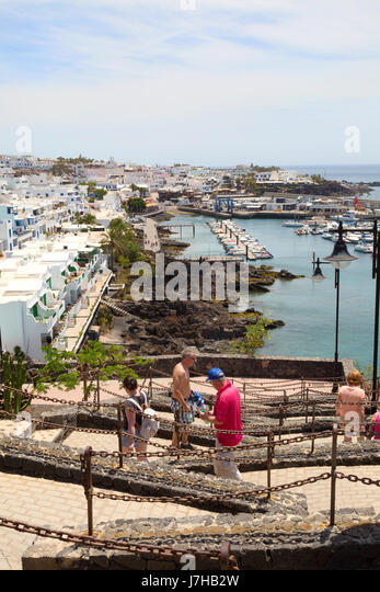 Lanzarote walking stock photos lanzarote walking stock - Lanzarote walks from puerto del carmen ...